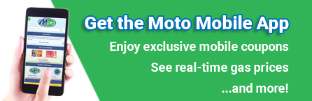 Get the MotoMart Mobile App