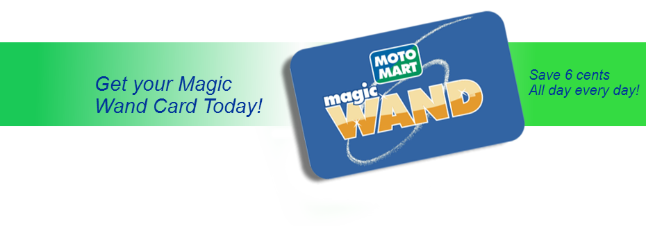 Magic Wand Card page banner showing magic wand card