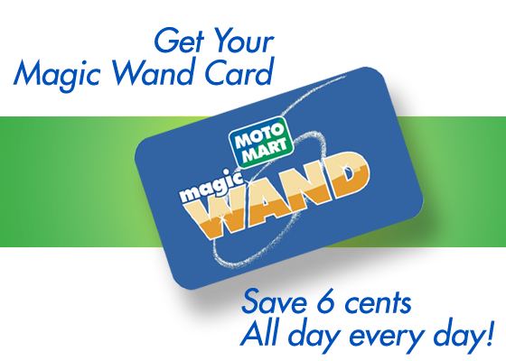 Get The Best Gas Reward Card In The Business The Motomart Magic